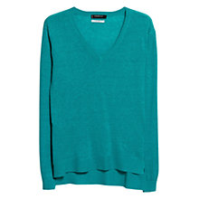 Buy Mango Linen Fine Knit Jumper Online at johnlewis.com