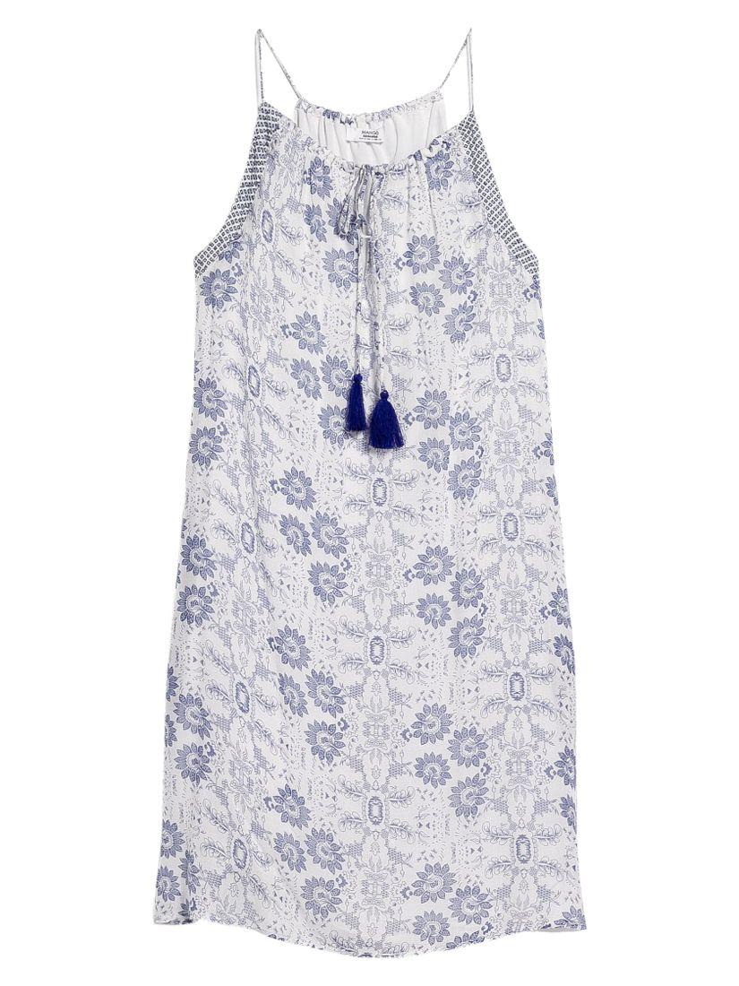mango floral print dress medium blue, mango, floral, print, dress, medium, blue, 6|8|10|14|12, women, womens dresses, 1943225