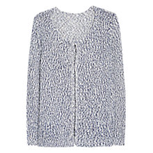 Buy Violeta by Mango Flecked Cardigan, Navy Online at johnlewis.com