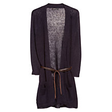 Buy Violeta by Mango Belted Linen Cardigan Online at johnlewis.com