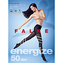 Buy Falke Leg Energizer 50 Denier Opaque Tights, Pack of 1, Black Online at johnlewis.com