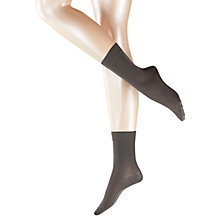 Buy Falke Cotton Touch Ankle Socks, Platinum Online at johnlewis.com