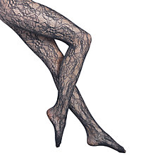 Buy Wolford Clair Fashion Floral Lace Tights Online at johnlewis.com