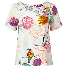 Buy White Stuff Aphrodite Top, White Online at johnlewis.com