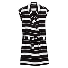 Buy Mango Double Breasted Dress, Black Online at johnlewis.com