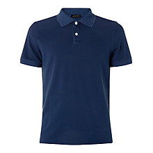 Buy Jaeger Garment Dyed Pique Polo Shirt Online at johnlewis.com