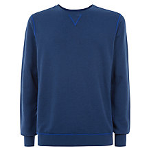 Buy Jaeger Crew Neck Cotton Sweatshirt Online at johnlewis.com