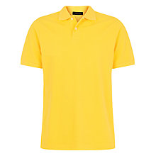 Buy Jaeger Plain Pique Polo Shirt Online at johnlewis.com