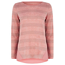 Buy Oasis Lurex Stripe Jumper Online at johnlewis.com