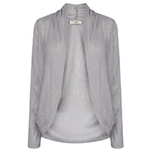 Buy Oasis Geo Lace Draped Cardigan Online at johnlewis.com