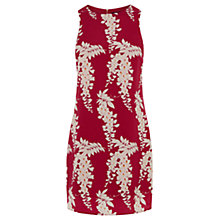 Buy Oasis Oriental Shift Dress, Multi Pink Online at johnlewis.com