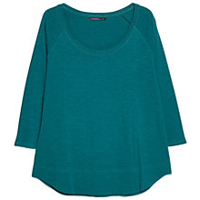 Buy Violeta by Mango Slub Cotton T-Shirt Online at johnlewis.com