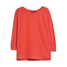 Buy Violeta by Mango Textured Cotton T-Shirt Online at johnlewis.com
