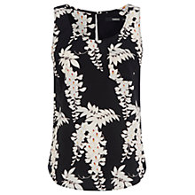 Buy Oasis Iris Vest, Black/Multi Online at johnlewis.com