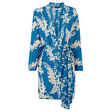 Buy Oasis Oriental Kimono Dress, Multi Blue Online at johnlewis.com