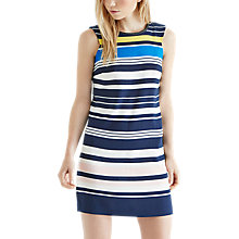 Buy Oasis Tabitha Block Stripe Dress, Multi Online at johnlewis.com