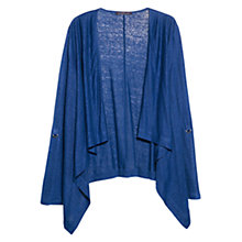 Buy Violeta by Mango Waterfall Linen Jacket Online at johnlewis.com