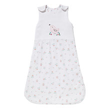 Buy John Lewis Vintage Floral Baby Sleep Bag, 2.5 Tog, White/Multi Online at johnlewis.com