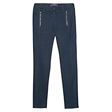 Buy Violeta by Mango Super Slim Fit Laura Jeans, Midnight Online at johnlewis.com