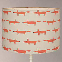 Buy Scion Mr Fox Lamp Shade, Small, Taupe Online at johnlewis.com