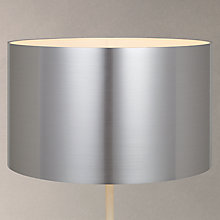 Buy John Lewis Metallic Lampshade, Steel Online at johnlewis.com