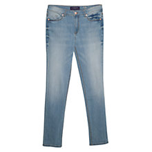 Buy Violeta by Mango Slim Fit Susan Jeans, Open Blue Online at johnlewis.com