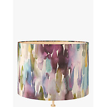 Buy Voyage Azima Lampshade, Indigo Online at johnlewis.com