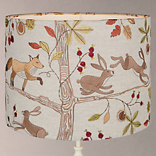 Buy Voyage Fox & Hare Lampshade Online at johnlewis.com