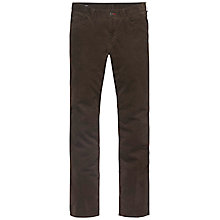 Buy Tommy Hilfiger Mercer Stretch Corduroy Trousers, Mulch Online at johnlewis.com