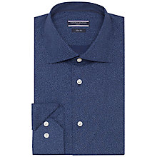 Buy Tommy Hilfiger Scott Slim Fit Shirt, Navy Online at johnlewis.com