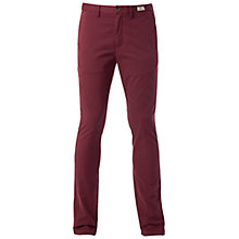 Buy Tommy Hilfiger Denton Organic Twill Chinos, Tawny Port Online at johnlewis.com