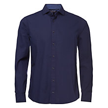 Buy Tommy Hilfiger Mick Printed Shirt, Evening Blue/Wading Blue Online at johnlewis.com