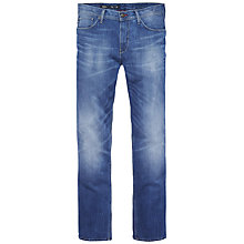 Buy Tommy Hilfiger Denton Alpha Jeans, Mid Blue Online at johnlewis.com