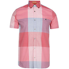 Buy Ted Baker Portlnd Check Short Sleeve Shirt Online at johnlewis.com
