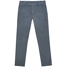 Buy Ted Baker Stalchi Slim Fit Linen Blend Trousers Online at johnlewis.com