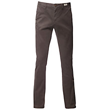 Buy Tommy Hilfiger Denton Organic Twill Chinos, Concrete Grey Online at johnlewis.com