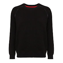 Buy Eleven Paris Minus Cotton Sweatshirt, Black Online at johnlewis.com