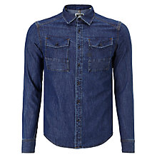 Buy G-Star Raw Coban Denim Shirt, Medium Aged Online at johnlewis.com