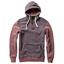 Buy G-Star Raw Harm Hoodie, Dark Fig Heather Online at johnlewis.com