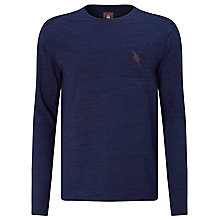 Buy G-Star Raw Evin Long Sleeved Top, Medium Aged Online at johnlewis.com