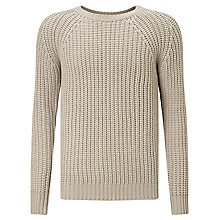 Buy G-Star Raw Ave Crew Neck Jumper, Dark Concrete Online at johnlewis.com