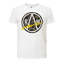 Buy G-Star Raw Bauchan T-Shirt, White Online at johnlewis.com