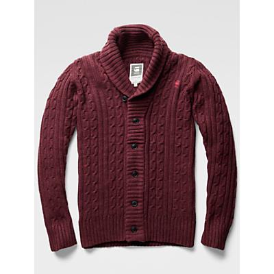 G-Star Raw Higging Cable Knit Cardigan £120.00 AT vintagedancer.com