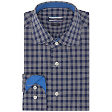 Buy Tommy Hilfiger Jack Checked Shirt, Grey/Navy Online at johnlewis.com