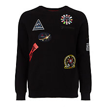 Buy Eleven Paris Molinor Defy Gravity Sweatshirt, Black Online at johnlewis.com