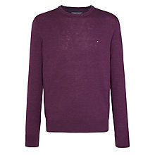 Buy Tommy Hilfiger Lambswool Crew Neck Jumper Online at johnlewis.com