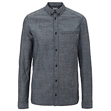 Buy Eleven Paris Malawi Denim Shirt, Blue Online at johnlewis.com
