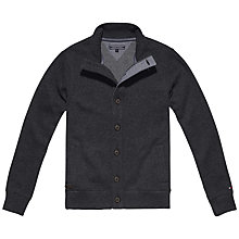 Buy Tommy Hilfiger Wyatt Button Cardigan, Silver Fog Heather Online at johnlewis.com