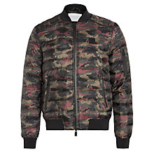 Buy Eleven Paris Minor Camo Print Quilted Jacket, Alphine Online at johnlewis.com