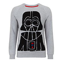 Buy Eleven Paris Mido Darth Vader Sweatshirt, Grey Online at johnlewis.com